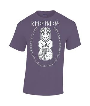 Rán Viking Goddess of the Sea Gildan Heavy Cotton T-Shirt