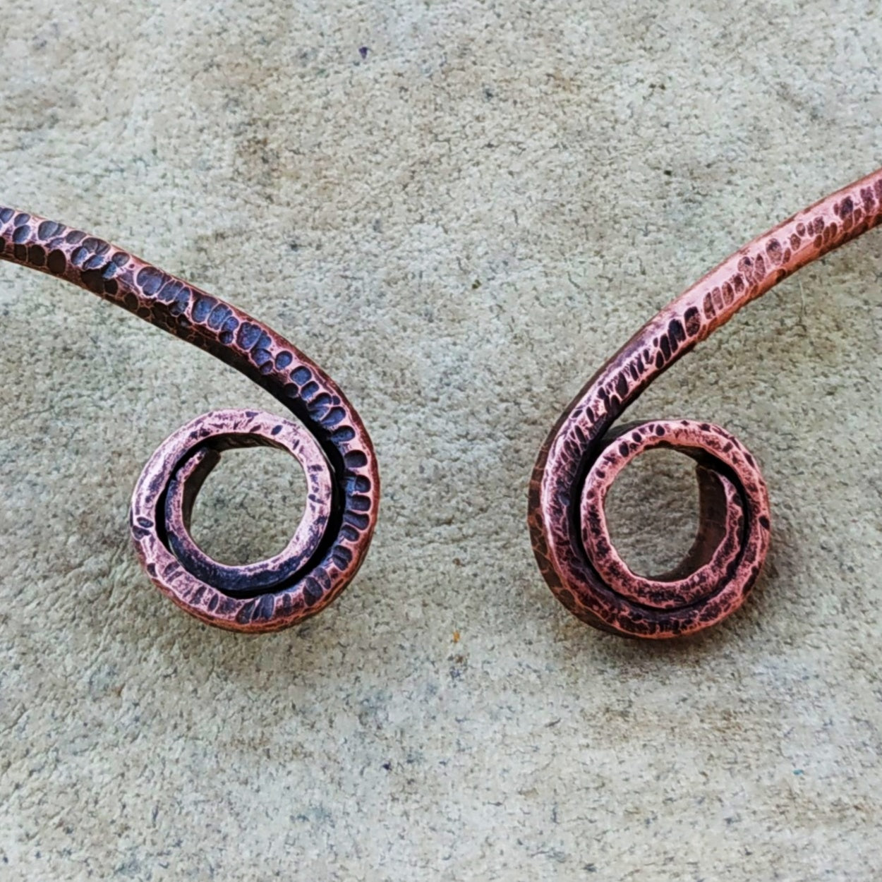 Spirit of the Morrigan Copper/Bronze Neck Torc