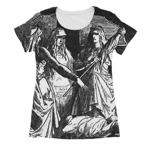 The Norns  by Johannes Gehrts (1889)  Women's Sublimation T-Shirt