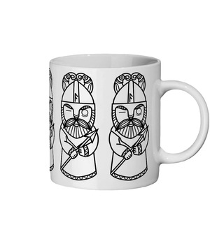 Viking Mug Norse God Odin Ceramic Mug 11oz