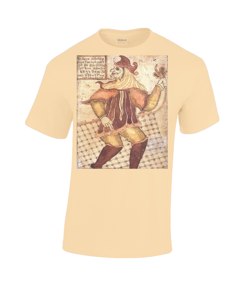Loki - Icelandic Manuscript Gildan Heavy Cotton T-Shirt