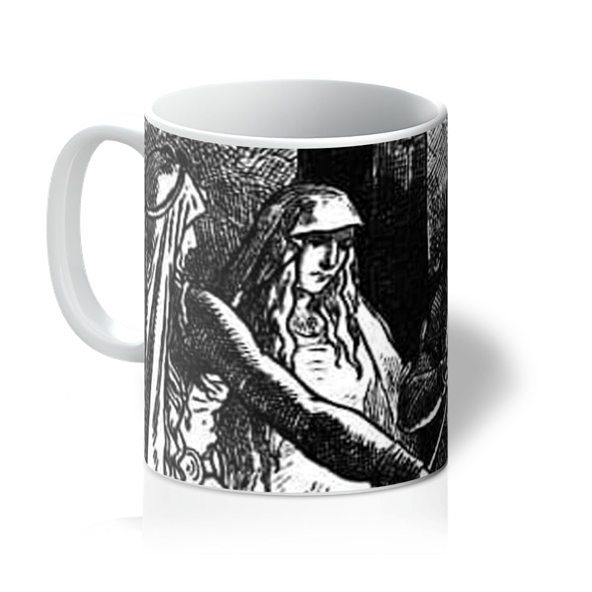 The Norns  by Johannes Gehrts (1889)  Mug