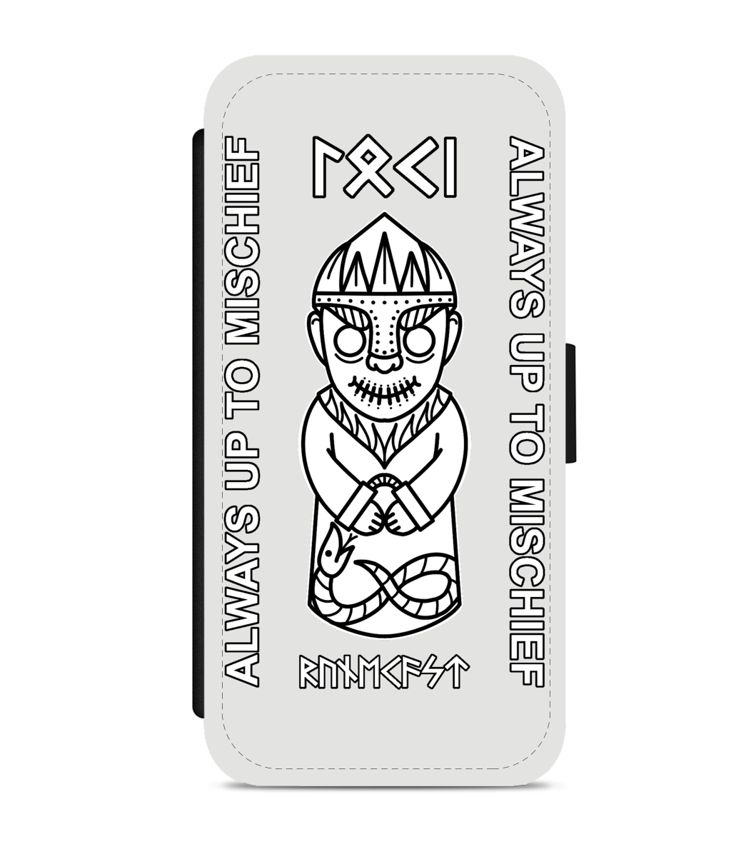 Faux Leather Phone Cases  Mischief Loki