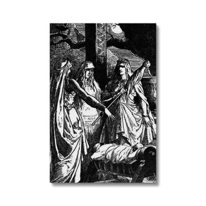 The Norns  by Johannes Gehrts (1889)  Canvas