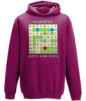 Explicit Content Runecast's Really Rude-Runes AWDis College Hoodie