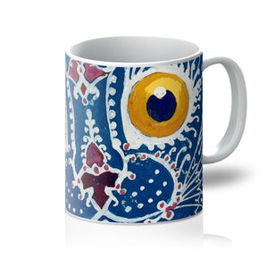 A Cat in The Gothic Style by Louis Wain Mug