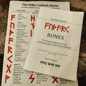 Elder Futhark Rune Book (Norse, viking, asatru, tarot) introduction to the runes, history, Mythology, divination and magic