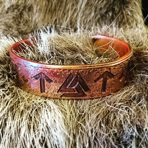 Custom Norse Warrior Valhalla Armband Bracelet choose your own 3 runes