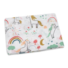 Load image into Gallery viewer, 100% Cotton large baby muslins - lots of beautiful prints to choose from
