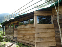 Load image into Gallery viewer, Triple room cabin with roof terrace - Biodiverse Development