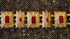 "Hip Belt - Red Enamel (SMALL) (33"") - HB45 Small"