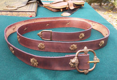 16th Century Acorn Belt, Brown - FB192