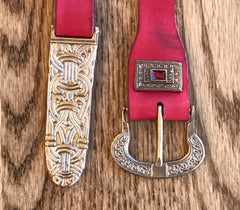 Saxon Finished Belt - FB44