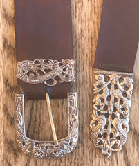 Finished Viking Belt - B67