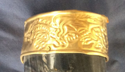 Drinking Horn - Dragon pattern