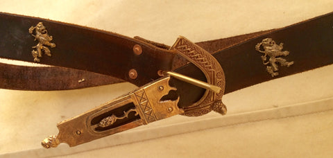 Finished 15th Century Belt - FBL06