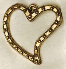 Heart Pendant from the Later Middle Ages J-32