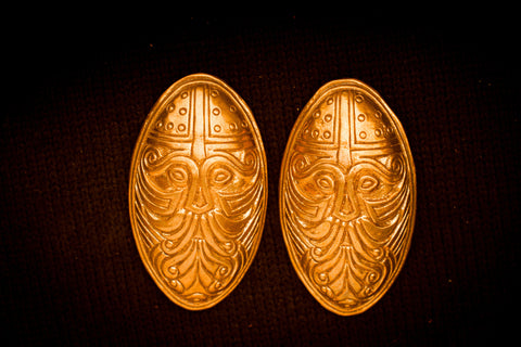 Viking Odin Turtle Brooches - TB18