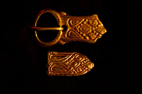 Viking Belt buckle set from Sweden - X22Y67
