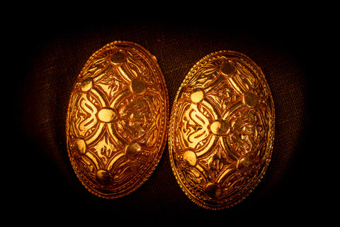 Vendel Circle Turtle Brooches - TB26