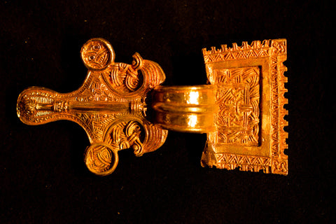 Saxon Square-Headed Bow Brooch - TB12