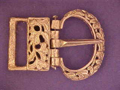 Mongol Buckle - Leaf Pattern - MO01