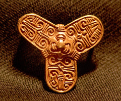 "Bronze Viking 2"" Trefoil Brooch - VB33 Main View"