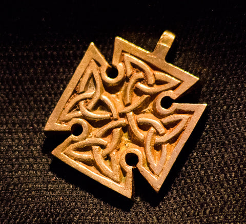 Doublesided Square Celtic Cross - C-02