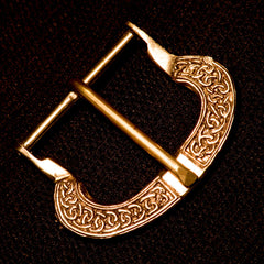 Saxon Belt Buckle with Knots (D style) - B-23