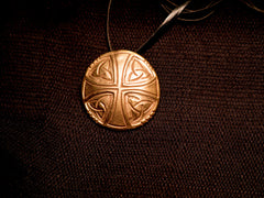 Saxon cross pendant - N-01