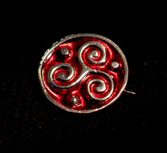 Roman Disc Brooch - RB08