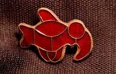 Bird Brooch - Enamel - SB16
