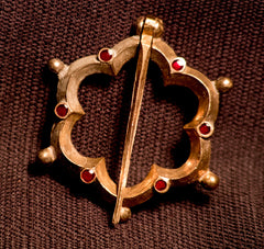 Large Annular brooch 14th - 15th C - W-16