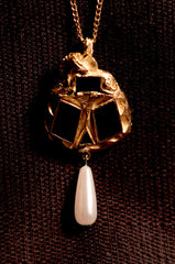 Pendant with Unicorn - W-36