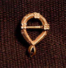 Elongated Annular Brooch - W-52