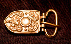 Mongol belt Buckle from Russia - W-85