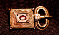 Frankish Buckle with plate - W90A