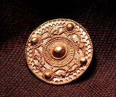Frankish - Germanic Round Brooch - W-92