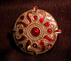 Round Brooch - Celtic  - X-15