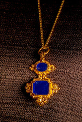 Pendant With Enamel - X-58