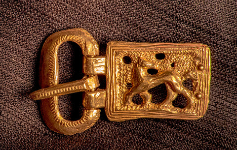 Norman belt buckle with a horse - X-81
