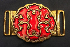 Persian Belt Mount with Red Enamel - PZ04