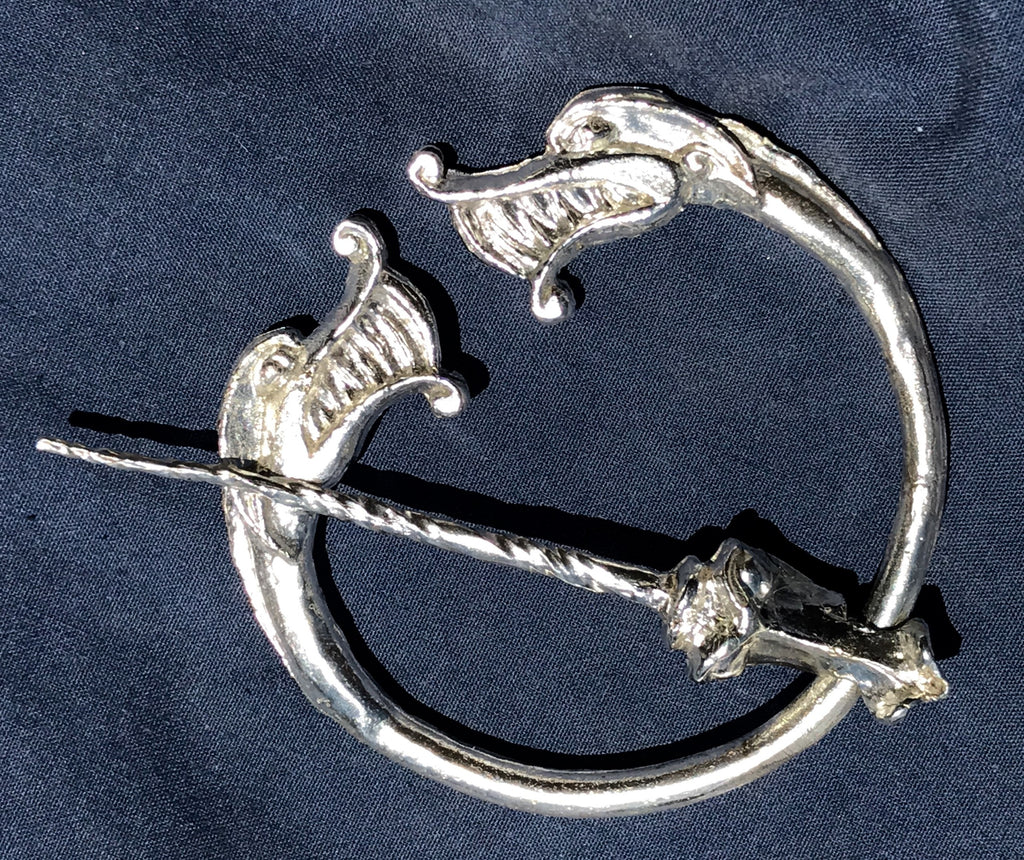 store brooch eye celtic pewter tiger