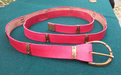 Crusader Belt, Red - FB130