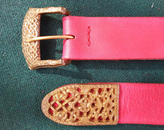 Viking Gokstad Belt, Red - FB103