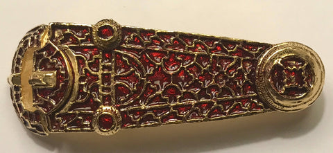 The Sutton Hoo Curved Mount (Dummy Buckle) S-37
