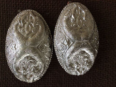 Silver Plate - Turtle Brooch set with world beasts - TB10
