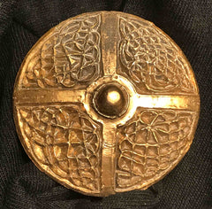 The Shield Design Pendant, Brooch or Cloak Clasp - U-60