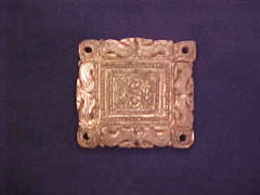 Saxon belt mount square - W-98