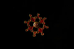 Roman Red Enamel Brooch - Y-13